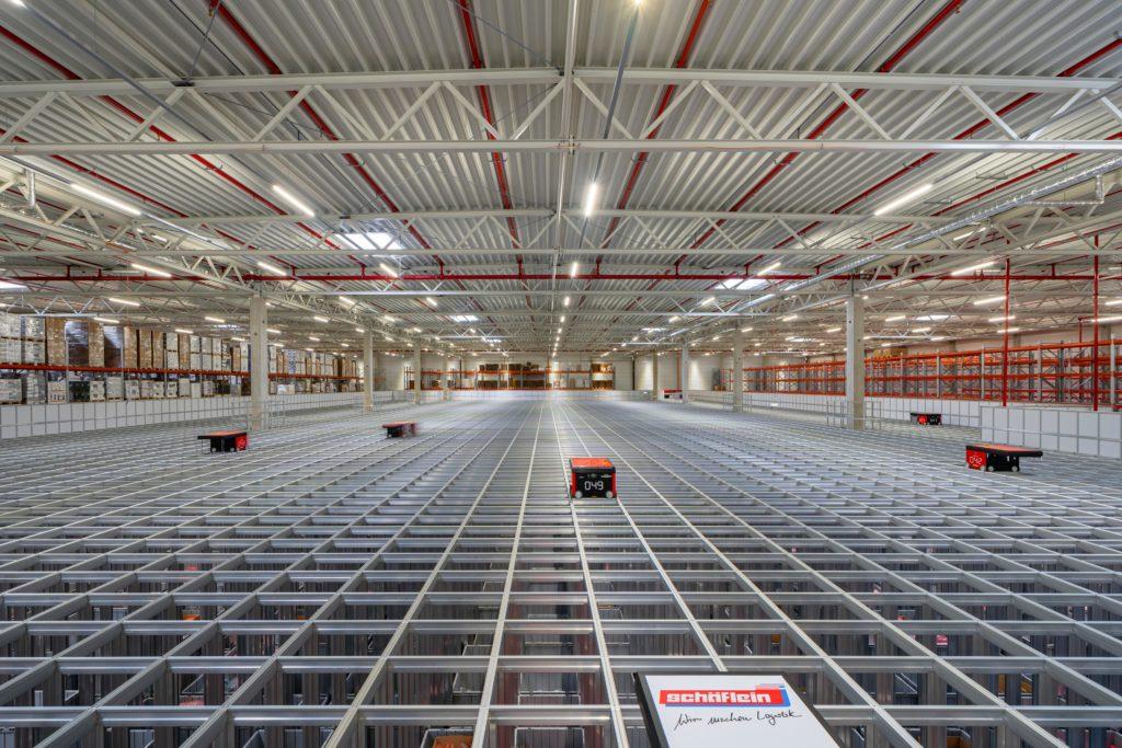 Aftermarket Logistik mit AutoStore