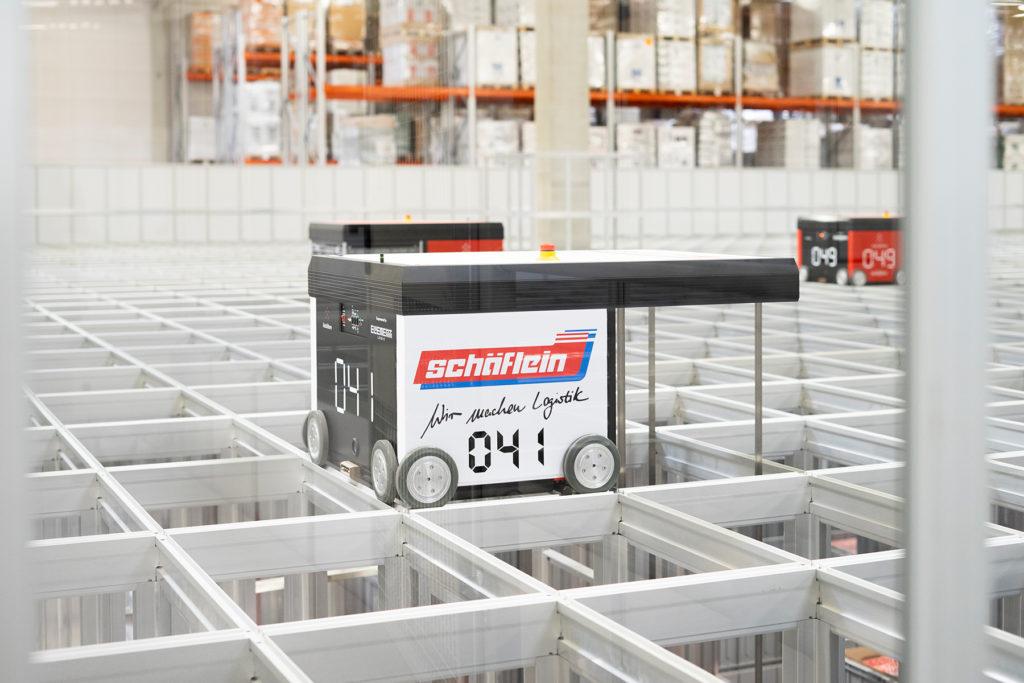 Logistik für Automobilzulieferer