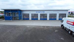 Neues Werkstattgebäude der Schäflein Truck Service GmbH