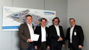 Bosch Rexroth und Logistikpartner Schäflein Vertragsverlängerung